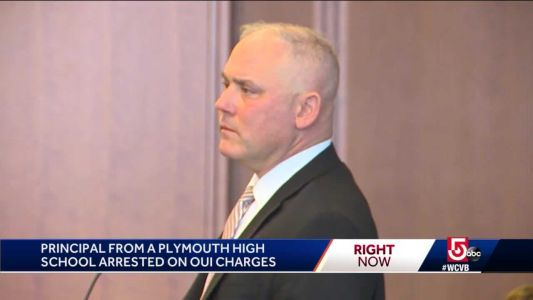 High school principal faces drunken driving charge