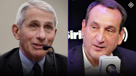 Dr. Anthony Fauci to Coach K about U.S. vs. coronavirus: 'We're not even at halftime'