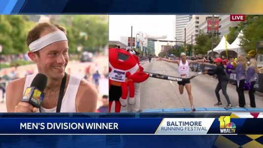 Jeffrey Redfern wins 2018 Baltimore Marathon