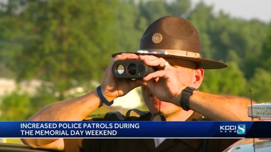 Expect to see more officers on the road this holiday weekend