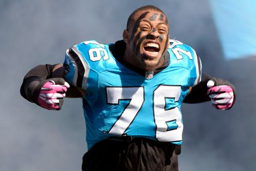 Greg Hardy isn't convinced Juan Adams hates him, but plans to send him to hospital regardless