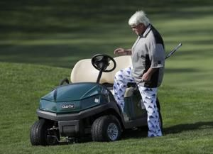 Cart-riding John Daly shoots 76 for a 151, will miss PGA cut