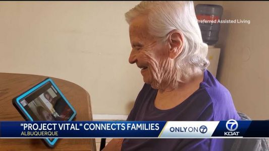 """""""Project Vital"""" using tablets to connect seniors to their families during the pandemic"""