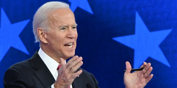 Biden said we need to 'keep punching at' domestic violence and the internet was not amused