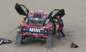 Dakar Rally leader Al-Attiyah wins penultimate stage