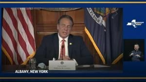 Cuomo addresses family receiving COVID tests