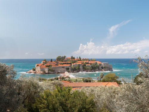 An exclusive Montenegro resort island was an influencer obsession last summer - and it just reopened amid the pandemic. Take a look inside