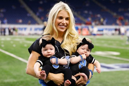 Matthew Stafford's wife back home after brain surgery