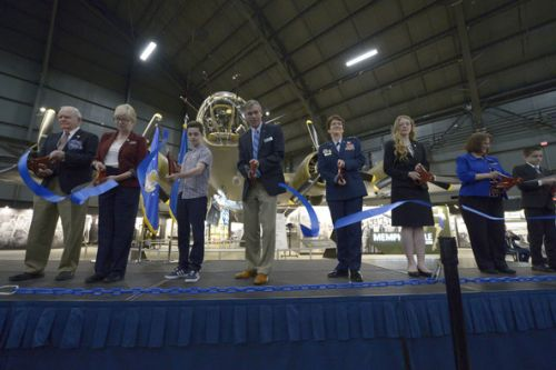 Memphis Belle opens at National Museum of the U.S. Air Force