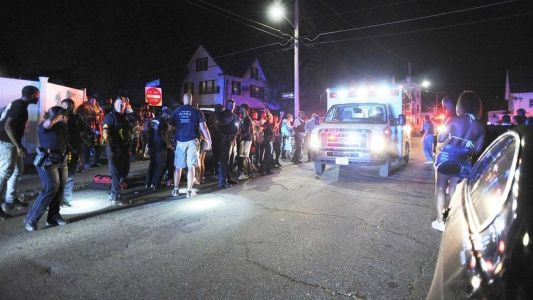 Police: 5 shot outside house party in Brockton