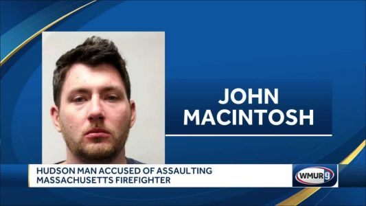 Hudson man accused of assaulting firefighter