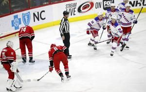 Namestnikov scores in 3rd, Rangers beat Hurricanes 2-1
