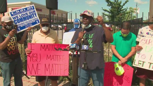 Residents on South, West sides remember George Floyd and call for peace