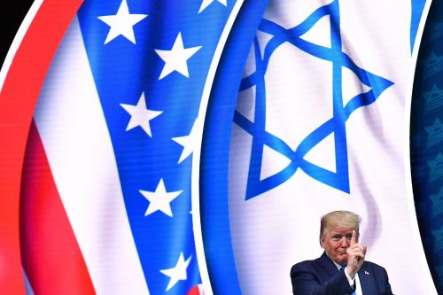 At a pro-Israel conference, Trump told Jewish voters they'd vote for him to avoid a wealth tax
