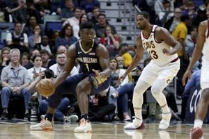 Ingram, Williamson lead Pelicans past Cavaliers 116-104