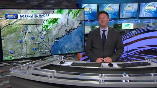 Watch: Showers, storms develop through afternoon