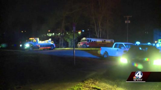 Coroner identifies body found on burning bus in Greenville County