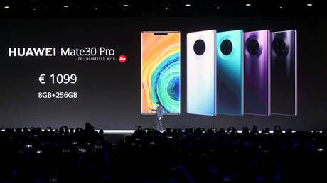 Huawei rolls out new flagship phones without Google apps amid US trade war with China