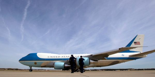'It's gonna be red, white, and blue': Trump reveals how he wants to overhaul Air Force One