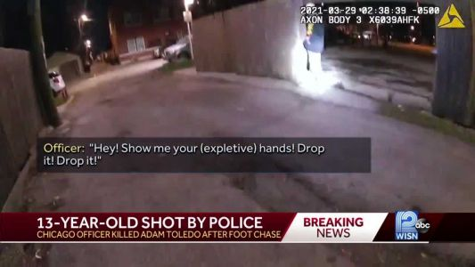 Chicago officials release video of fatal police shooting of 13-year-old boy