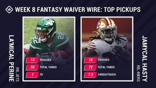 Best Fantasy Week 8 Waiver Pickups: La'Mical Perine gets his chance, JaMycal Hasty looks good after Jeff Wilson Jr.'s injury