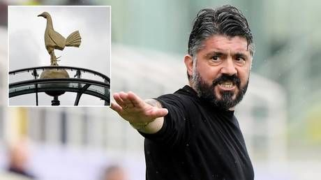 Italian hothead Gattuso quits after just 23 days at Fiorentina - and is ALREADY linked to Spurs job after Fonseca deal collapses