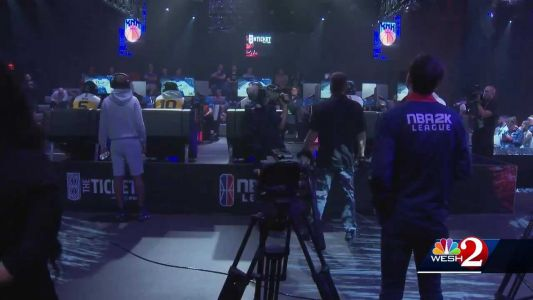 Teams battle it out in pro esports tournament at Full Sail University