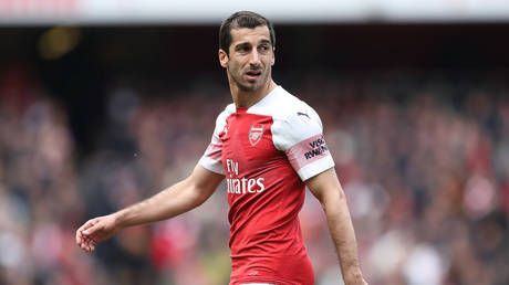 Henri-KO: Arsenal confirm Mkhitaryan to miss Europa League final over safety concerns in Azerbaijan