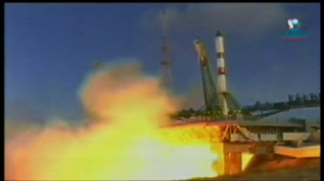 WATCH Soyuz rocket blast off into space from Baikonur with Progress spacecraft on board