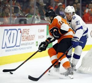 Cirelli scores in OT as Lightning beat Flyers 6-5