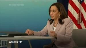 Harris says she is 'undeterred' on voting rights