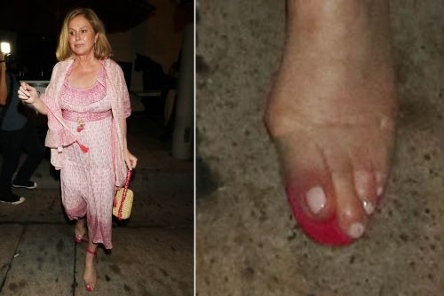 Kathy Hilton's shoes look super painful and more star snaps