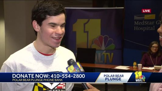 Polar Bear Plunge donations benefit athletes like Matt