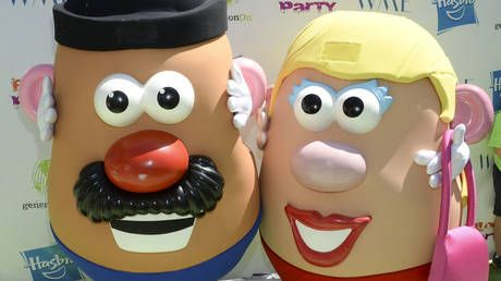 No more Mr. Potato Head: Hasbro bombarded with mockery after announcement that famous toy is gender neutral now