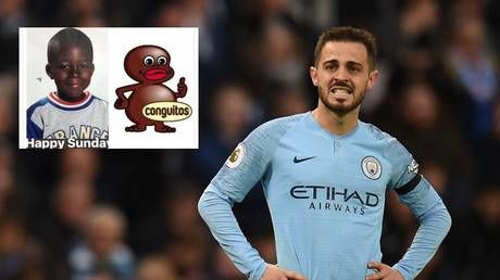 Man City's Silva banned over 'racist' tweet comparing teammate Mendy to cartoon