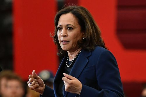 Joe Biden chooses Kamala Harris as his vice presidential running mate