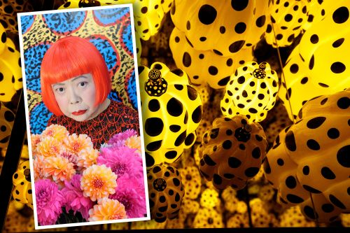 Inside artist Yayoi Kusama's trippy New York Botanical Garden exhibit