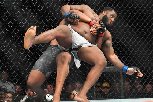 UFC Nashville winner Curtis Blaydes says Justin Willis crossed line with disrespect of father