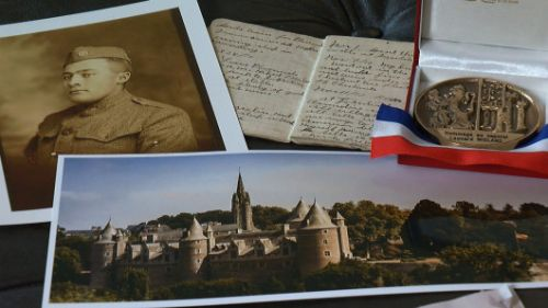 WWI Veteran's Family Retraces His Time In France