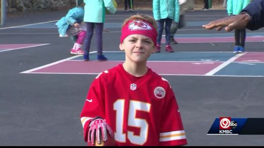 This Boston kid is all about the Kansas City Chiefs