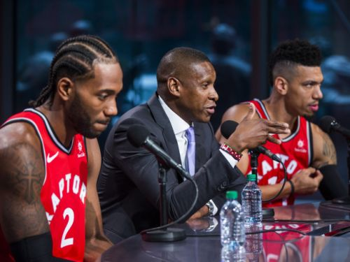 In Toronto, Kawhi Leonard finally breaks his silence on his Raptors switch to say, well, not a whole lot