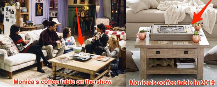 9 items from Monica's apartment in 'Friends,' and what she would buy to upgrade them in 2019