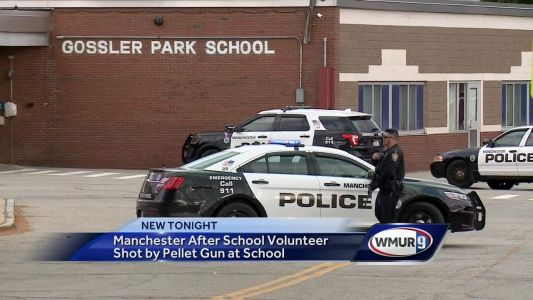 Manchester after-school volunteer shot by pellet gun at elementary school