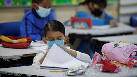 Pediatrics group says all students should wear masks in school