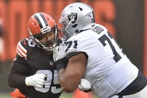 Browns star Myles Garrett on COVID list, out for Eagles game