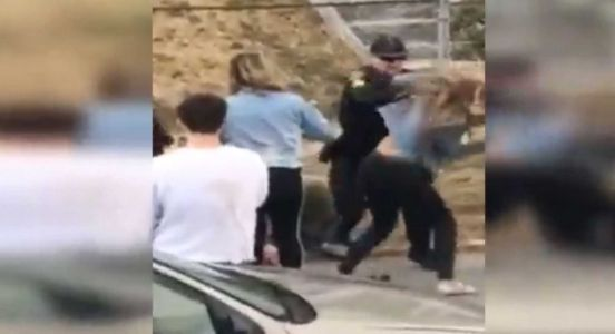 Video shows officer hitting woman, but police say there's more to story