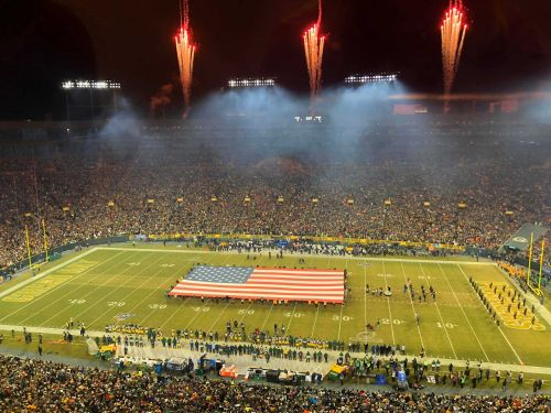 Wisconsin Bill Would Require National Anthem To Be Played Before All Lambeau Field Games