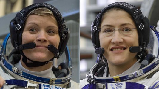 NASA cancels first all-female spacewalk due to lack of spacesuits that fit