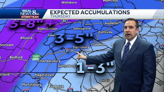 Snow to Wintry Mix Thursday; Snow & Ice Accumulations Likely