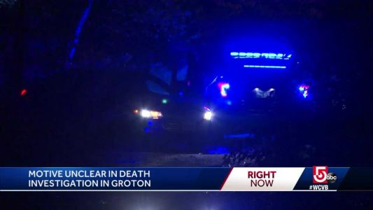 Motive unclear in death investigation in Groton